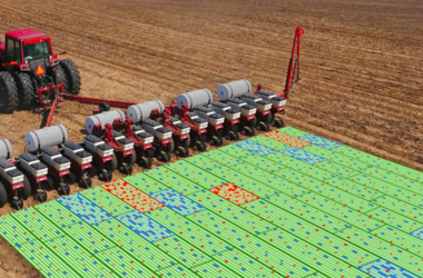 Field eData portal, visualization Precision Planting .2020, shape