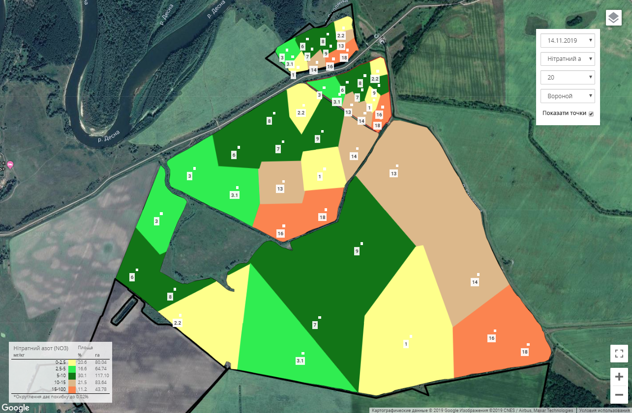 Cartograms are the beginning of precision farming